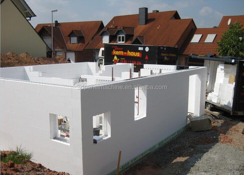 Polystyrene Concrete Block Equipmentinsulated Concrete