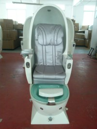 Egg Shape Pedicure Chair With Glass Bowl - Buy Egg Shape ...
