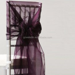 Purple Chair Sashes For Weddings Overstock Com Dining Chairs 2 Wholesale 30 280cm Fancy Wedding Organza Sash Buy