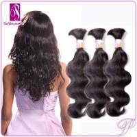 Real Brazilian Human Hair Body Wave Braiding Hair - Buy ...