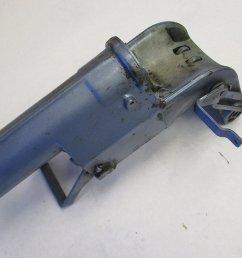 386934 swivel bracket 10 15 hp evinrude johnson outboard motor swivel bracket 0318851 [ 1500 x 1125 Pixel ]