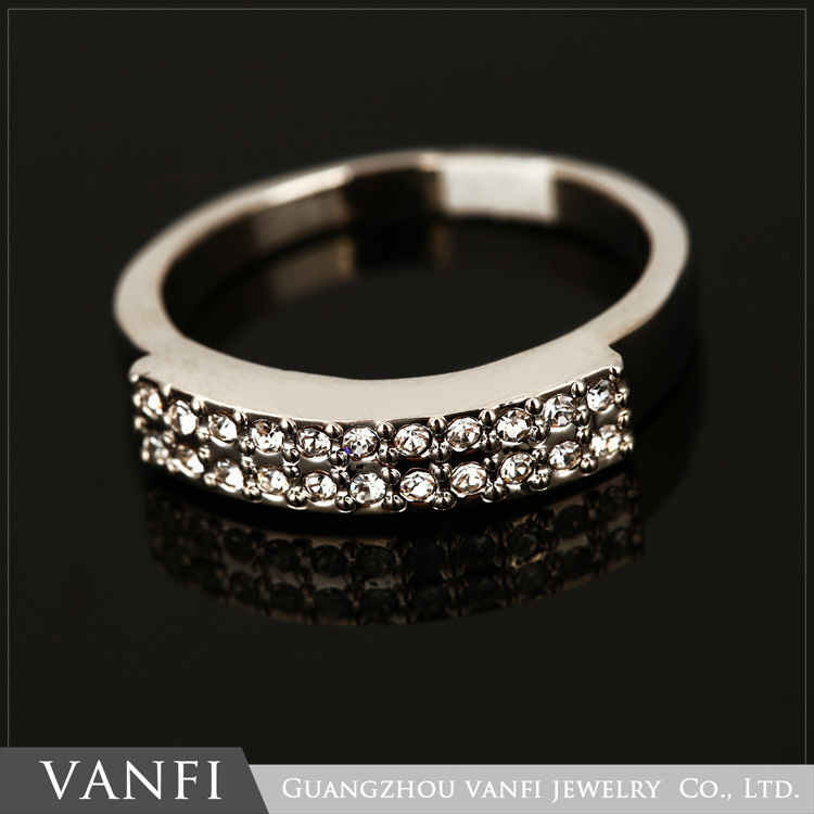 Latest Designs Arabic Rhinestone Jewelry Magnesium Ring