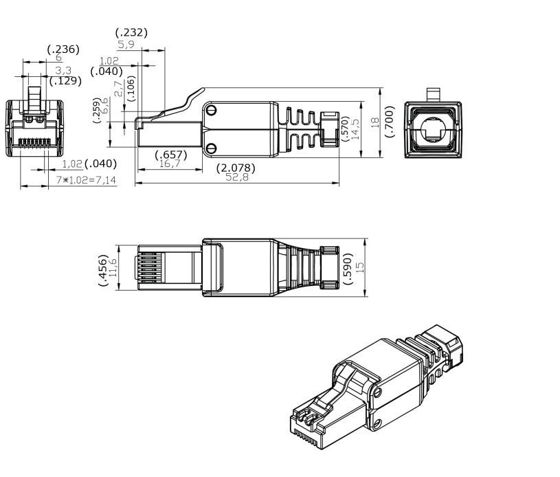 wiring a cat5 plug lay