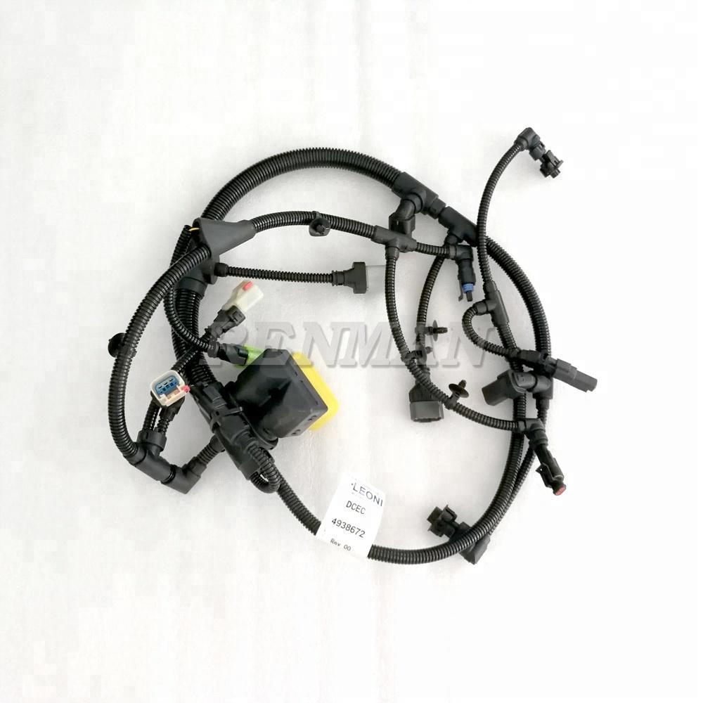 medium resolution of cummins qsb4 8 isde engine electronic control module wiring harness 4938672 4933296 5367724