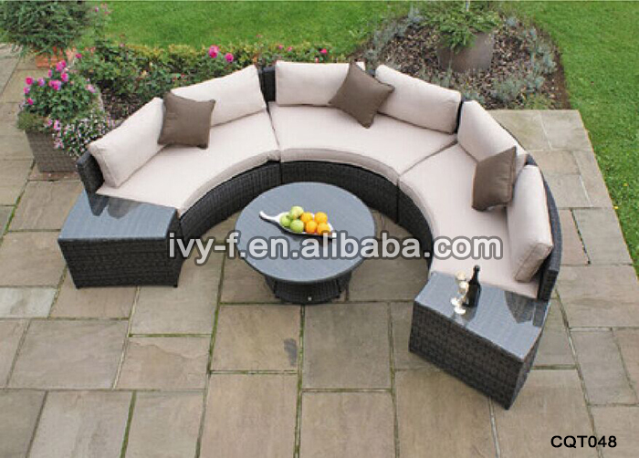 high bar table and chair set huey p newton hotel garden wicker half-moon shape sectional sofa with side table/semi-circle ...