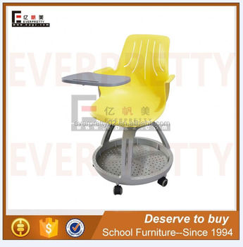 steelcase classroom chairs egg chair stand school node with casters college fold tablet top plastic metal sturdy