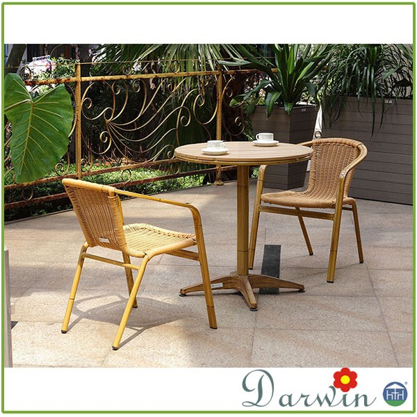 Cheap Wicker Rattan Dining Chair Bamboo Furniture Wrought