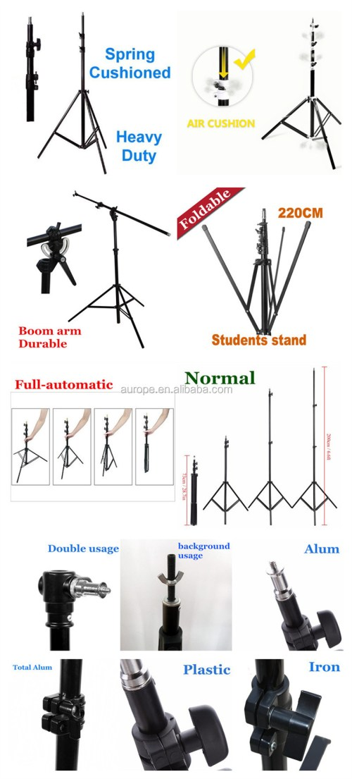 small resolution of emart photography 7 feet light stands for photo studio video shooting carry case include