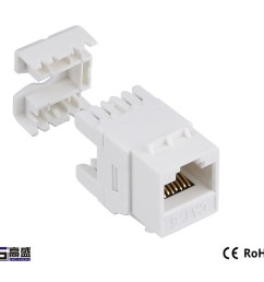 made in china network female modular connector keystone jack cat5e short rj45 connector [ 1000 x 883 Pixel ]