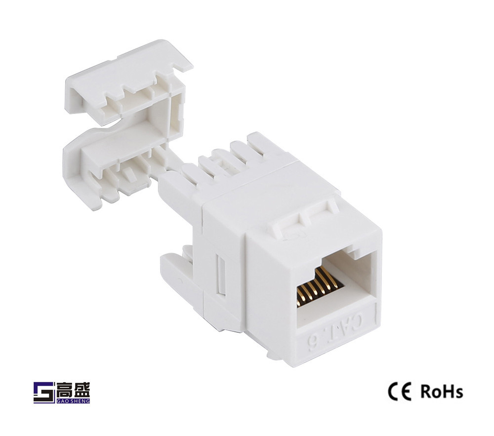medium resolution of made in china network female modular connector keystone jack cat5e short rj45 connector