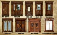 South Indian Half Glass Wooden Front Door Design - Buy ...
