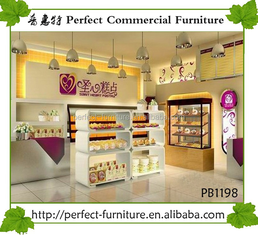 Selling Furniture Bakery Pastry Kiosk Design Cupcake Cookies Booth