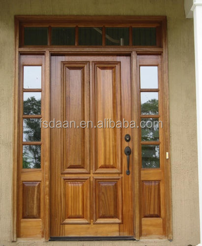 2014 Hotel Engineering Teak Wood Front Door Design