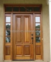 2014 Hotel Engineering Teak Wood Front Door Design - Buy ...