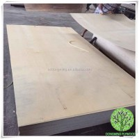 Yellow Hardwood Birch Plywood Waterproof Commercial ...