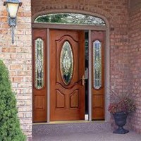Decorative Glass Storm Doors Decorative Glass Inserts ...