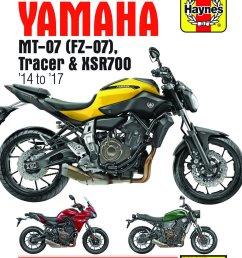 get quotations 2014 2017 yamaha mt07 fz07 mt fz 07 tracer xsr700 xsr 700 haynes repair manual [ 1172 x 1500 Pixel ]