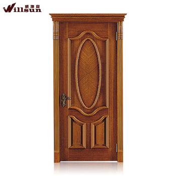 2015 Wooden Main Door Design House Exterior Door Panel