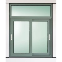 House Sliding Window With Fixed Top Panel - Buy House ...