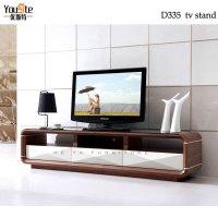 Walnut Wood Glass Tv Table Stand Plasma Tv Glass Table ...