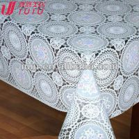 Elegant Lace Tablecloth,Lace Table Overlay - Buy Lace Oval ...