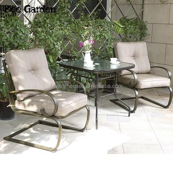 3 Pcs Bantalan Logam Outdoor Furniture Patio Bistro Outdoor Dining Set Buy Di Luar Ruangan Makan Set Logam Outdoor Furniture Patio Furniture Set Product On Alibaba Com