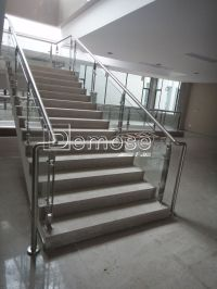 Indoor Glass Stair Railing Kits - Buy Indoor Glass Railing ...