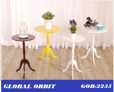 bois table ronde tables basses
