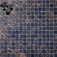 Mb Smh04 Dark Blue Mosaic Vitrified Tile Cheap Glass