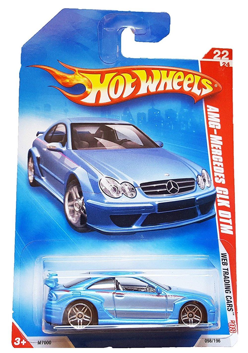 medium resolution of get quotations 2008 hot wheels web trading cars blue amg mercedes clk dtm w pr5s