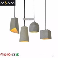 Concrete Indoor Pendant Light Decorative Hanging Lights ...