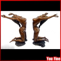 Bronze Statue Bronze Sculpture Decorative Bronze Glass ...