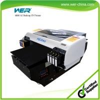 A2 Wer D4880uv Ceramic Tile Printing Machine Uv Flatbed ...