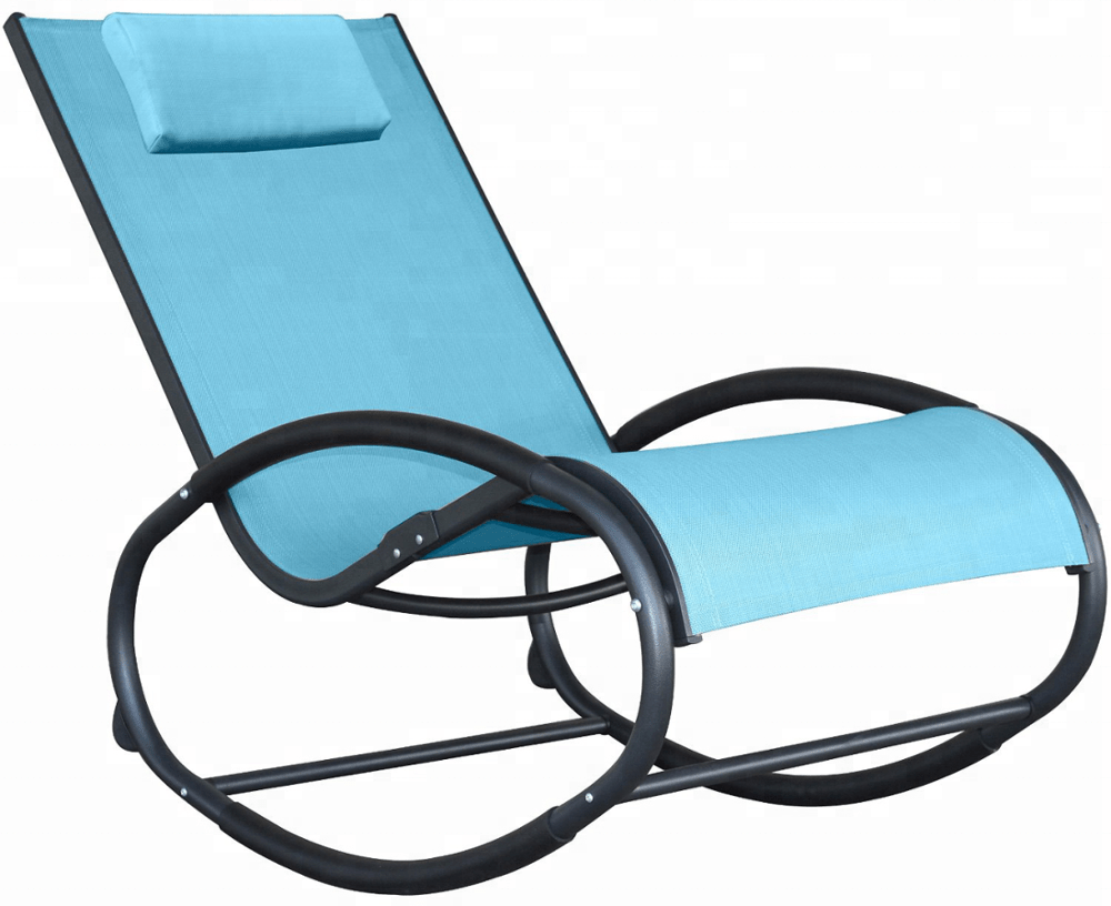 Zero Gravity Outdoor Lounge Chair Rocking Lounge Chair Aluminum Orbital Zero Gravity Chair Outdoor Recliner Pool Chaise Rocking Wave Lounger Chair With Pillow Buy Rocking Lounge