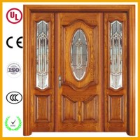 Luxury Style Good Price Kerala Front Door Wooden Double