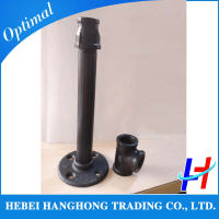 1/2-3/4 Inch Black Malleable Iron Pipe Fitting For Metal ...