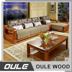 Design Of Wood Sofa Set Laptop Table High Quality Oak Solid Simple Wooden Buy
