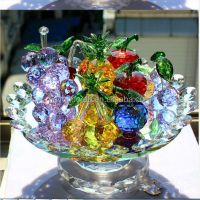 Beautiful Crystal Fruit Bowl,Decorative Crystal Food - Buy ...