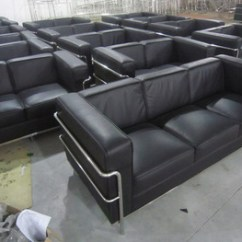 Le Corbusier Sofa Replica Sectional With Cover Bank Foshan Haiyue Classical Leather