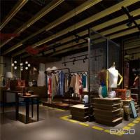 Chinese Designer Stock Cycling Used Clothes Store Interior ...