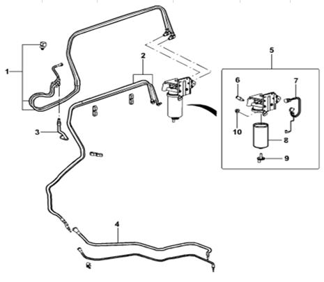 Genuine Fuel Filter Indicator For Ford Transit V348 3c11
