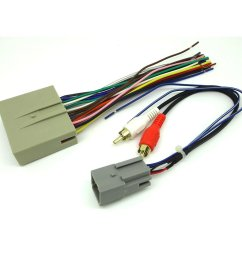 get quotations ford car stereo cd player wiring harness wire aftermarket radio install plug 2004 [ 1100 x 1100 Pixel ]