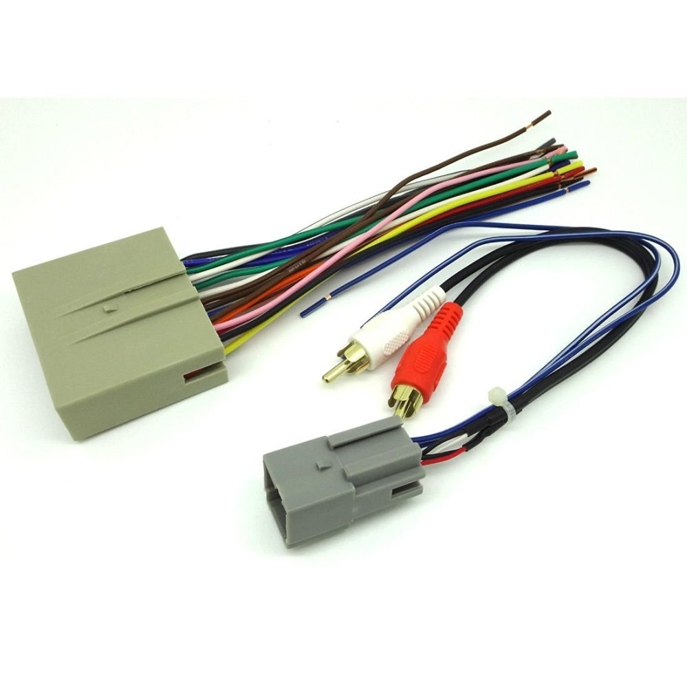 medium resolution of get quotations ford car stereo cd player wiring harness wire aftermarket radio install plug 2004