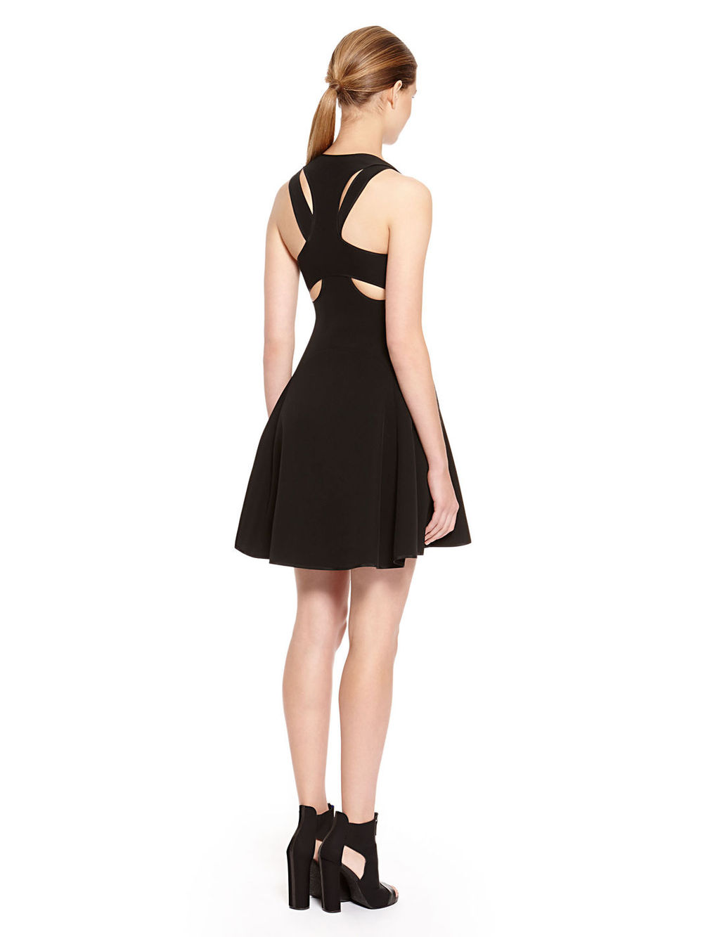 Black Double Ribbon Back Women Fancy Dress  Buy Women