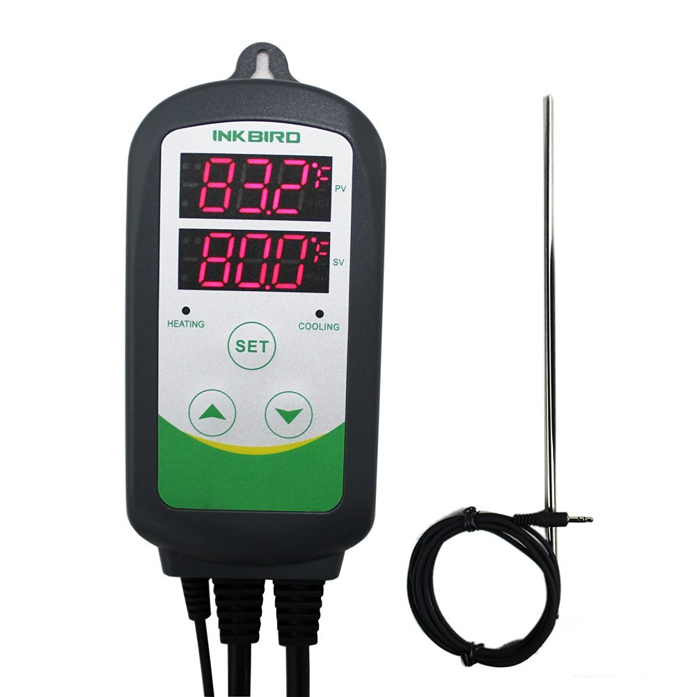 hight resolution of get quotations inkbird brewing dual stage thermostat temperature controller 12 probe ntc sensor