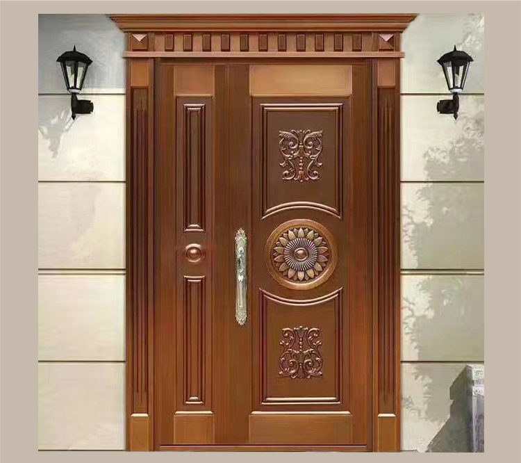 Sus304 Residential Safety Entry Stainless Steel Door