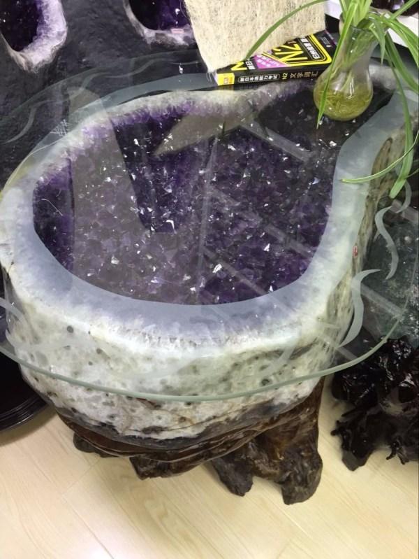 90x50x55cm Crystal Quartz Natural Large Brazilian Amethyst