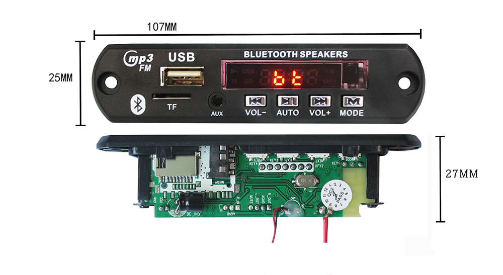 Bluetooth Audio Receiver Pcb Circuit Board Professional Circuit Board