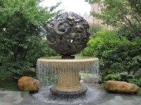 Outdoor Garden Waterfall Fountain Statue Sculpture