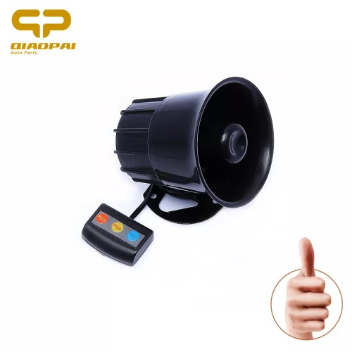 small resolution of motorcycle car alarm siren 3 tone horn 12v universal loud speaker auto alarm police firemen ambulance